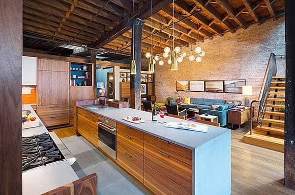 Tribeca Loft-Andrew Franz Architect-03-1 Kindesign