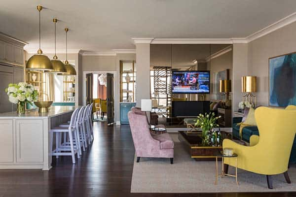 Riverside Penthouse-Tobi Fairley Interior Design-11-1 Kindesign